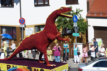 3. Platz Dinosaurier, ASC